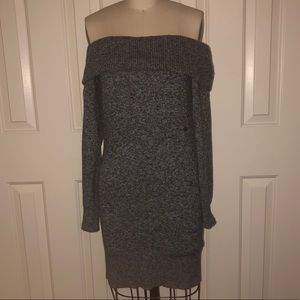 American Eagle off the shoulder sweater dress